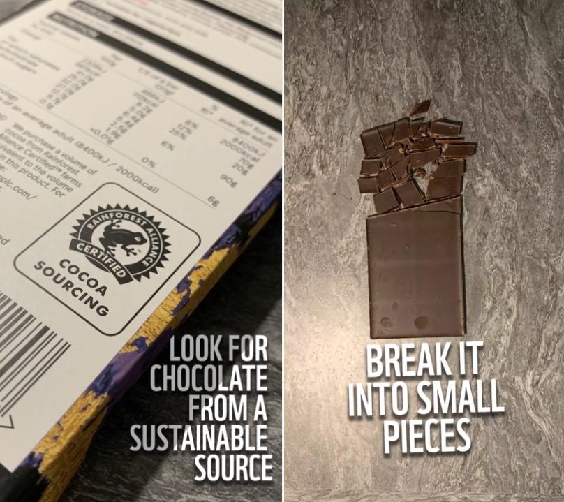 chocolate brownie sustainable