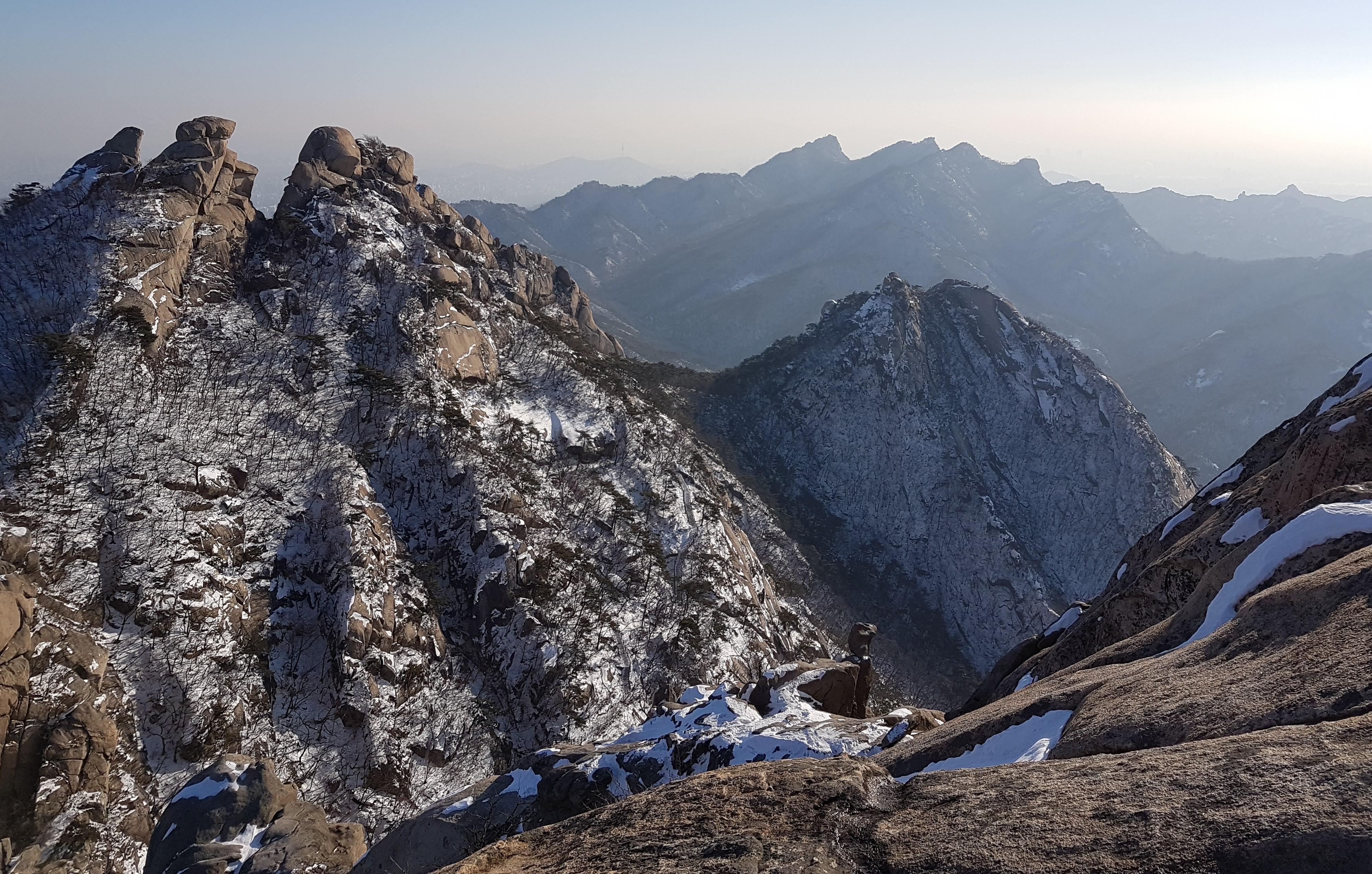 Bukhansan National Park. PC Joshua Powell