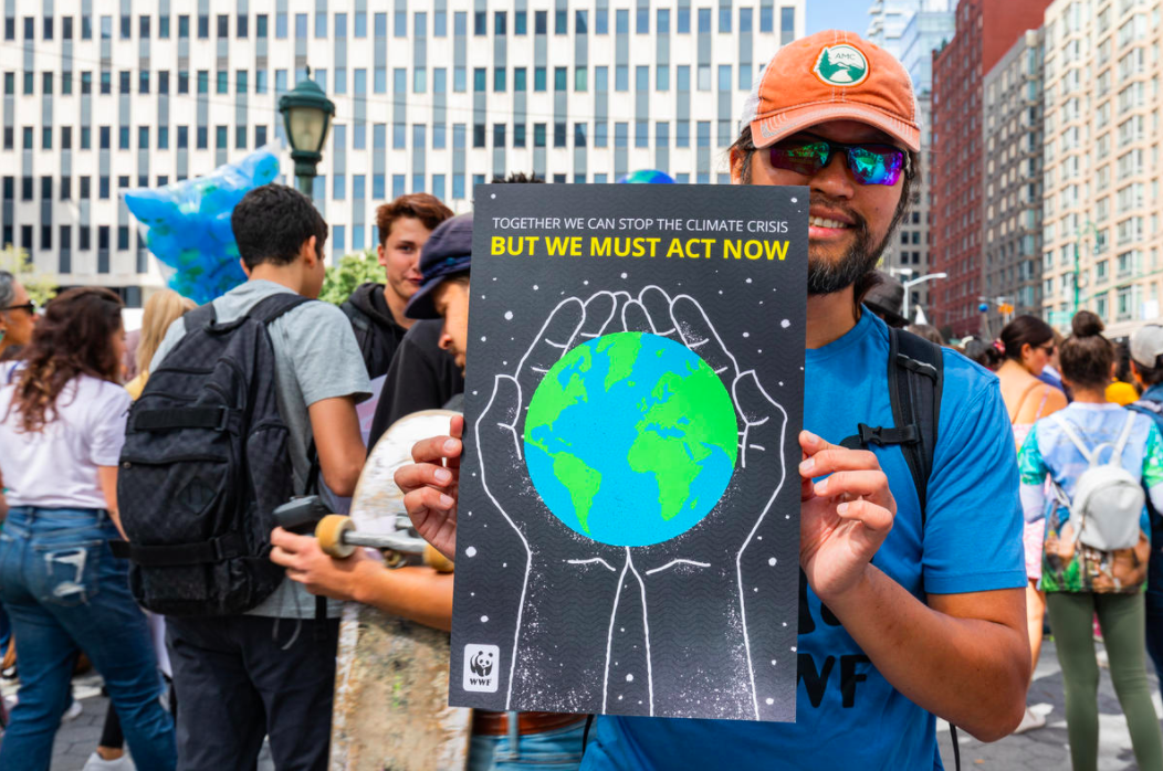Climate March 2019 in New York. © WWF-US / Keith Arnold